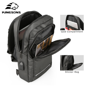 Image 4 - Kingsons New 10 Chest Bag High quality Crossbady Bags Single Shoulder Strap Back pack Business Travel Casual Bags Hot Sale