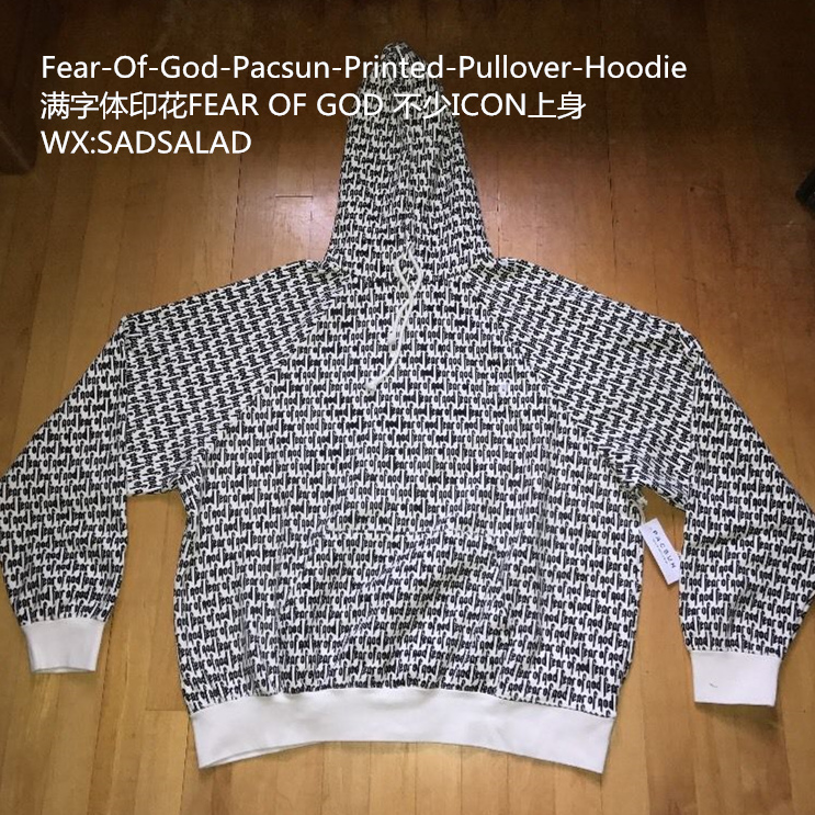 fear of god collection two pacsun fog hoodie men pullover. Black Bedroom Furniture Sets. Home Design Ideas