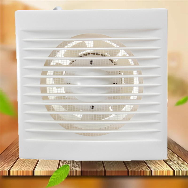 US $5.76 21% OFF|12W 220V Household Window type Silent Extractor Exhaust  Fan Hotel Glass Windows Wall Kitchen Bathroom Ventilation Fan 110x110mm-in  ...