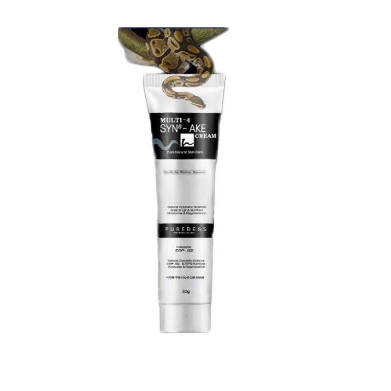purebess multi 4 syn ake krém - Purebess Multi-4 Syn-ake Cream 50g Face Cream Anti Wrinkle Snake Venom Cream SYN-AKE 4% Facial Skin Care Cream Korean Cosmetics