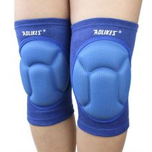1 Pair Aolikes Basketball Skating Shockproof Sponge Pad Knee Support Brace Guard Elbow & Knee Pads