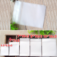 500pcs Frosted Self Adheisve Plastic Pouch Semi Transparent Packaging Bags For Candy Biscuits Cakes Jewelries