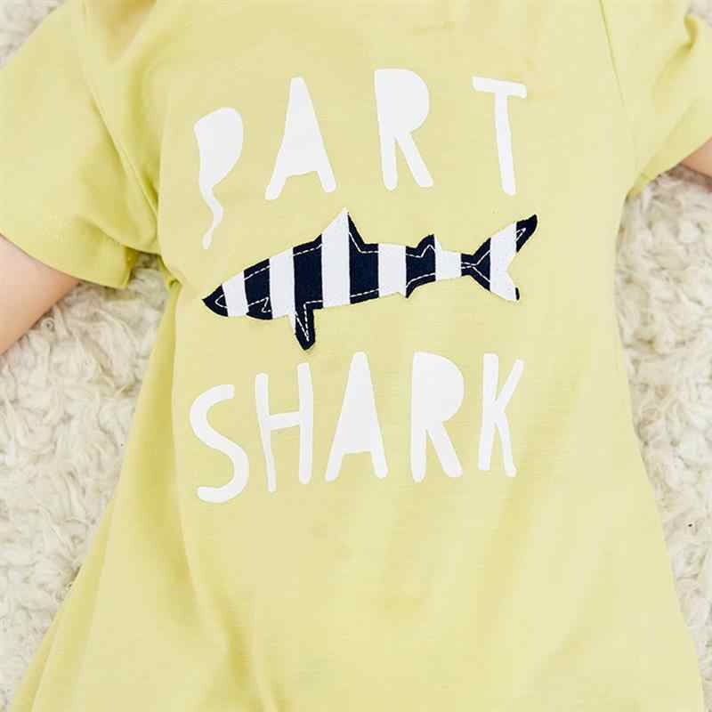 Летняя одежда для малышей; комбинезон для маленьких мальчиков и девочек; милые очки в полоску с короткими рукавами и принтом медведя; Детский боди; Одежда для младенцев