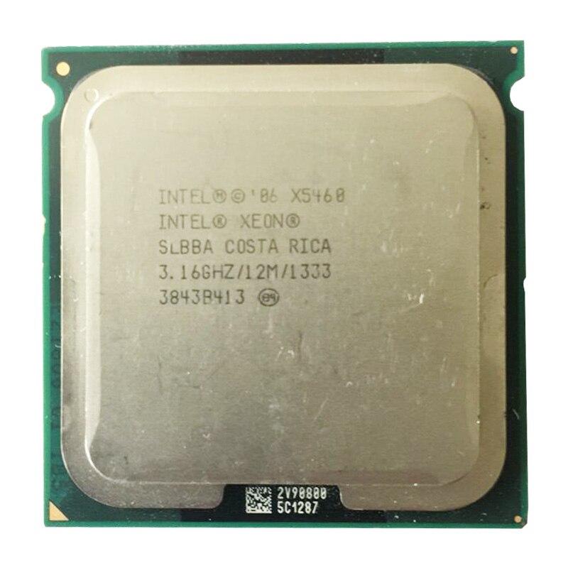 Original intel xeon x5460 cpu eo/slbba/12 mb cache/1333 mhz quad core x5460 processador servidor trabalhando alguns 775 soquete mainboard