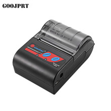 Free shipping 58MM Bluetooth Thermal Portable/Mobile Receipt Printer support android  IOS