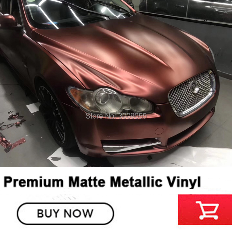 Newest color Highest quality car wrap vinyl film car wrapping dark red color with air release