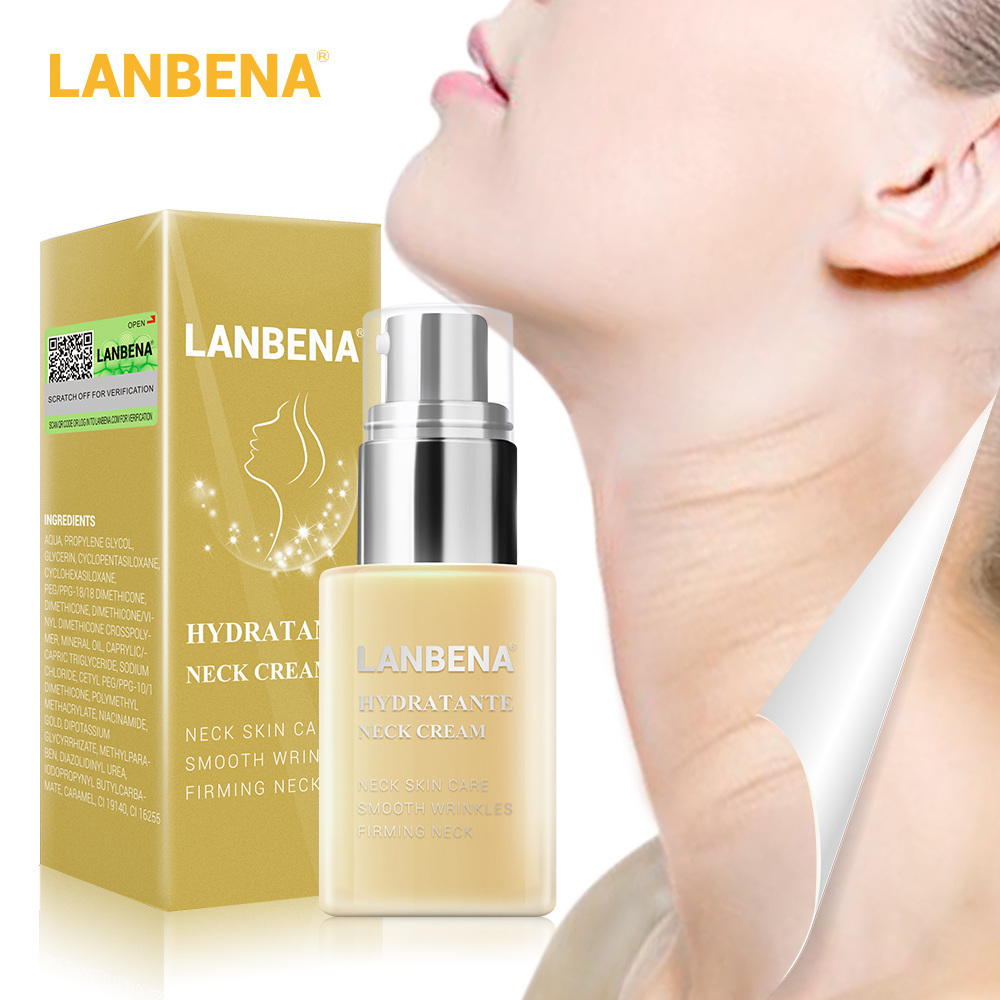 Lanbena Hydrating Neck Cream Firming Moisturizing Reduce Fine Lines Neck Mask Anti Wrinkle Relieving Health And Beauty Skin Care