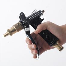 Adjustable Copper Hose Spray Nozzle Gun Garden Hose Water Pressure Guns For Garden Watering/Cars Vehicles Washing