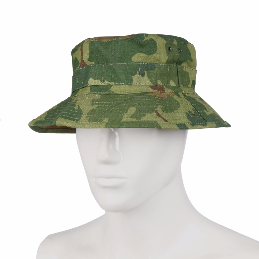 Men's Hats Vietnam War Mitchell Camouflage Camo Boonie Bush Hat In Sizes To Have A Unique National Style Men's Military Hats