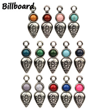 10pcs/lot 28*10mm Alloy Charms for DIY Necklace Jewelry Making Accessories Pendants Handmade