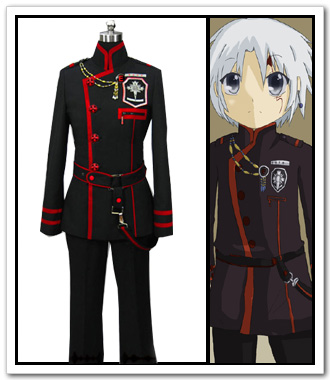 Anime D.Gray Man Cosplay -Anime D.Gray Man Cosplay Allen cosplay costume   D Gray Man Cosplay Allen 3rd Fullset Uniform Costume