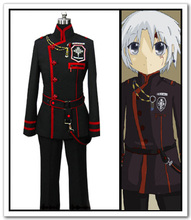 Anime D.Gray Man Cosplay -Anime Allen cosplay costume  D Gray 3rd Fullset Uniform Costume