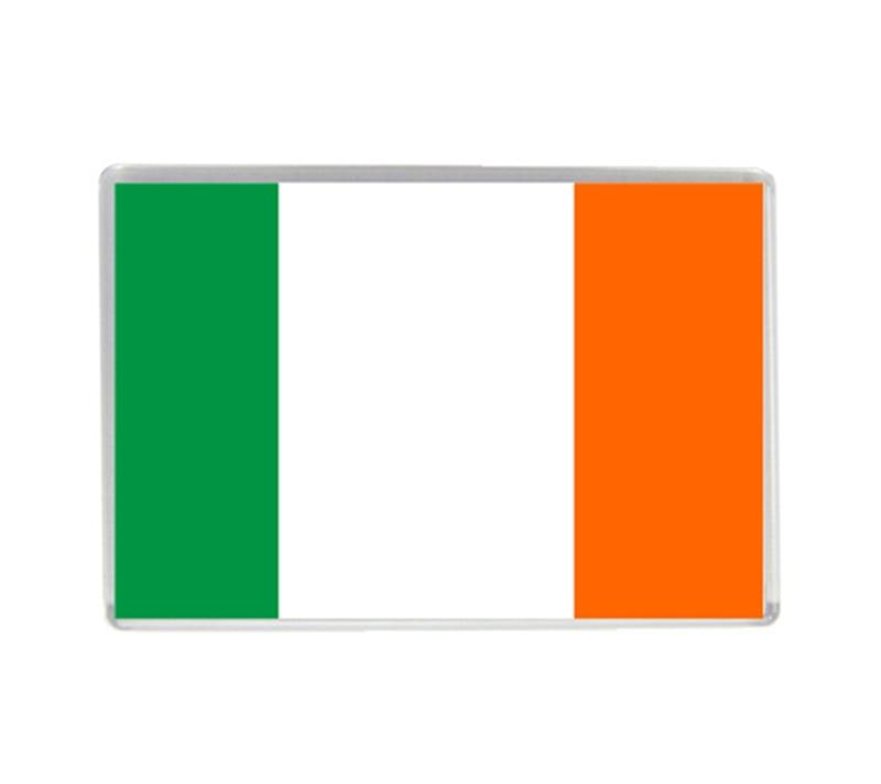 ④Bandera de Irlanda acrílico calidad Imanes de nevera recuerdo del ...