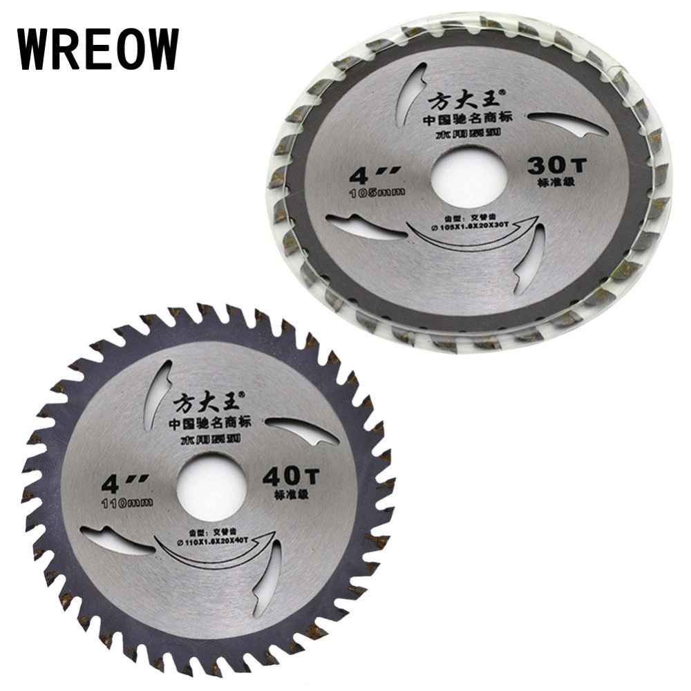4Inch Mini Circular Saw Blade 30/40T For Wood Acrylic Metal Cutting Cutter Tool For Power Tool Accessories Circular Mini Blade