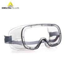 727b7f363f Deltaplus 101125 gafas de protección seguridad transparente PC ventilación  Anti-splash Anti-impacto laboratorio visitante gafas