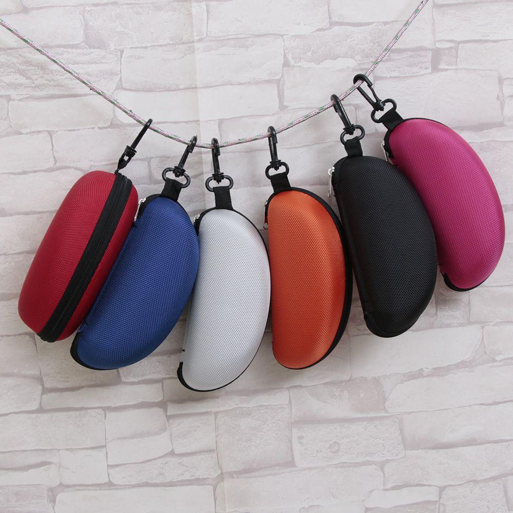 DemüTigen 1 Pc Tragbare Zipper Brillen Clam Shell Sonnenbrille Hard Case Protector Box Brillen Schutz Lagerung Inhaber Tasche Reise