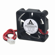 5Pcs Gdstime 2Pin 12V 3010 30x30x10mm 30mm Ball Bearing Small Brushless DC Cooler Cooling Fan