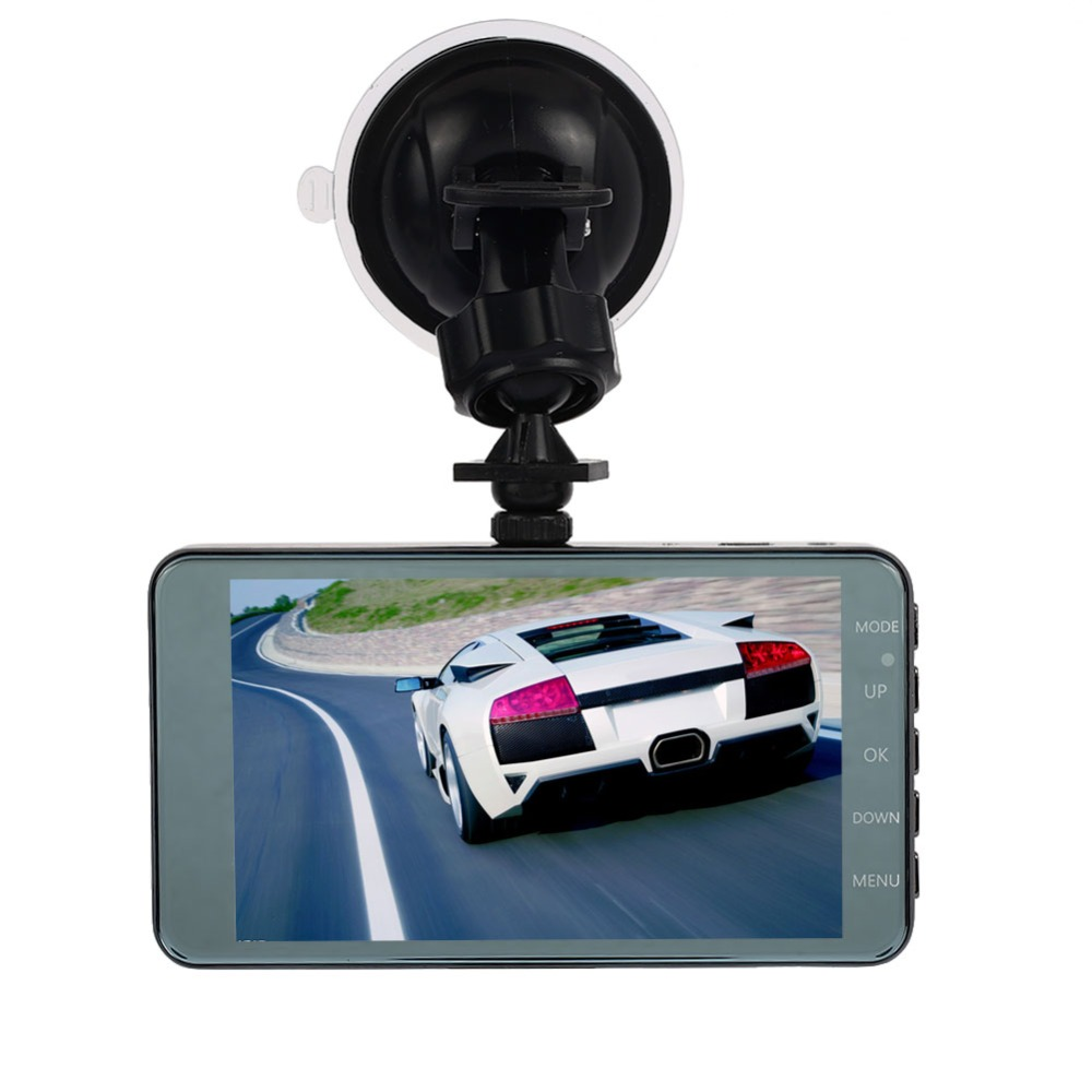 Vehemo Dash Camera 4 Screen Full HD 1080P 60fps 170 degree Wide-Angle Car DVR Dash Cam with G-Sensor International Night Vision ambarella a7 hd 18mp 1080p 60fps cmos 170 wide angle night vision car dvr camcorder black