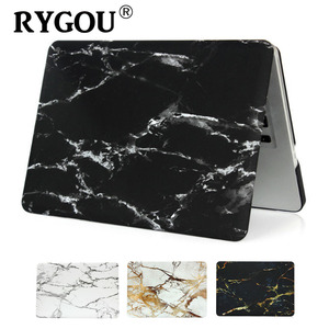 Image 1 - Marble Pattern Hard Case & Keyboard Cover For Macbook Pro 13.3 15.4 Pro Retina 12 13 15 inch for Mac book Air 11 13 Laptop Case