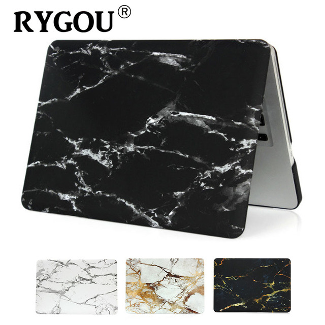 Marble Pattern Hard Case & Keyboard Cover For Macbook Pro 13.3 15.4 Pro Retina 12 13 15 inch for Mac book Air 11 13 Laptop Case