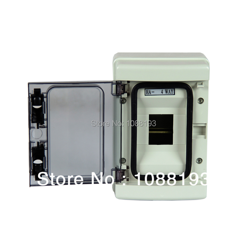 High Quality Electric Waterproof Box Electric Meter Box ABS Switch Box 4 Ways