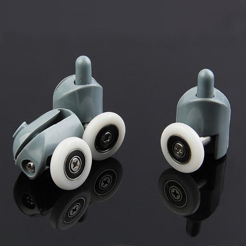 4 pces-8 pçs/pçs/set cabines chuveiro polia rolo/corredores/0 rodas/polias diameter20mm/22mm/23mm/25mm/27mm.