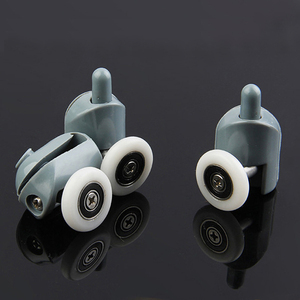 4pcs-8pcs/set shower Rooms Cabins Pulley Shower Room Roller /Runners/0Wheels/Pulleys Diameter20mm/22mm/23mm/25mm/27mm.(China)