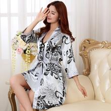 2016 NEW Fashion women men nightwear sexy sleepwear lingerie sleepshirts nightgowns sleeping dress good nightdress lover's