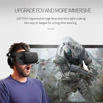Original bobovr Z5/bobo vr Z5 Virtual Reality goggles 120 FOV 3D Glasses google cardboard with Headset Stereo Box For smartphone 4