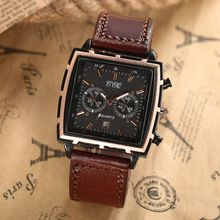 Top Luxury Men Casual Quartz Watch Men Fashion Waterproof Business Calendar Watches Genuine Leather Wristwatch Sports Watches117
