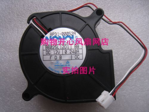 New original BP31-00052A B6025L12D1 three wire projector fan new original bp31 00052a b6025l12d1 three wire projector fan