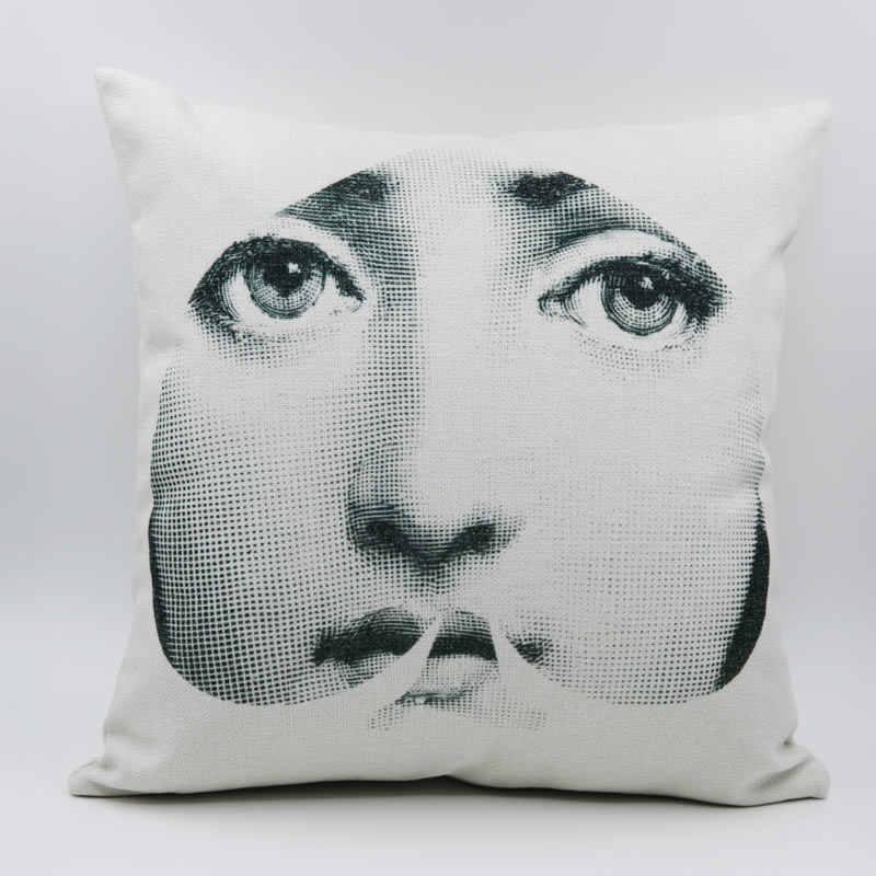 Наволочка итальянский Fornasetti серии для книги по искусству спальня гостиная кафе подушки постельные принадлежности