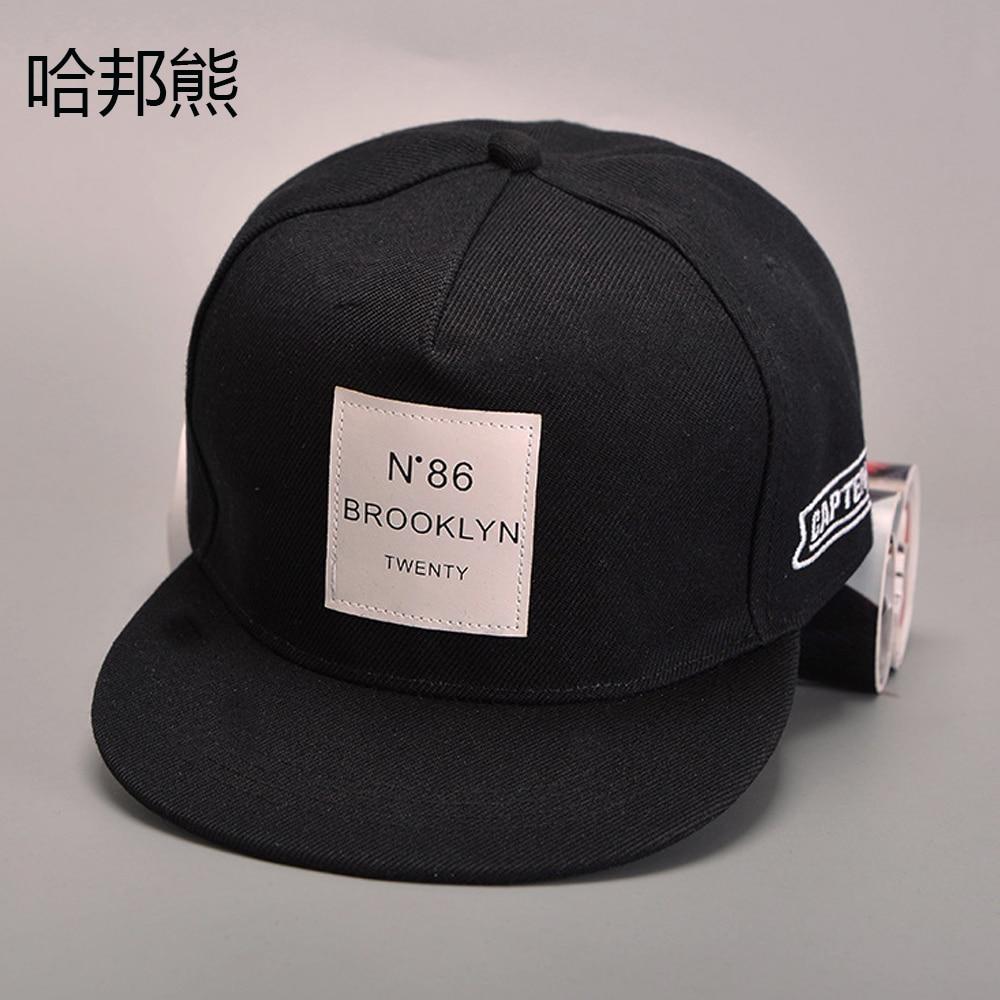 2b7f009a4f314 N.86 capten brooklyn dua puluh man topi baseball pria snapback hip hop  olahraga topi wanita casquette snap kembali unisex topi di Pria Bisbol Topi  dari ...