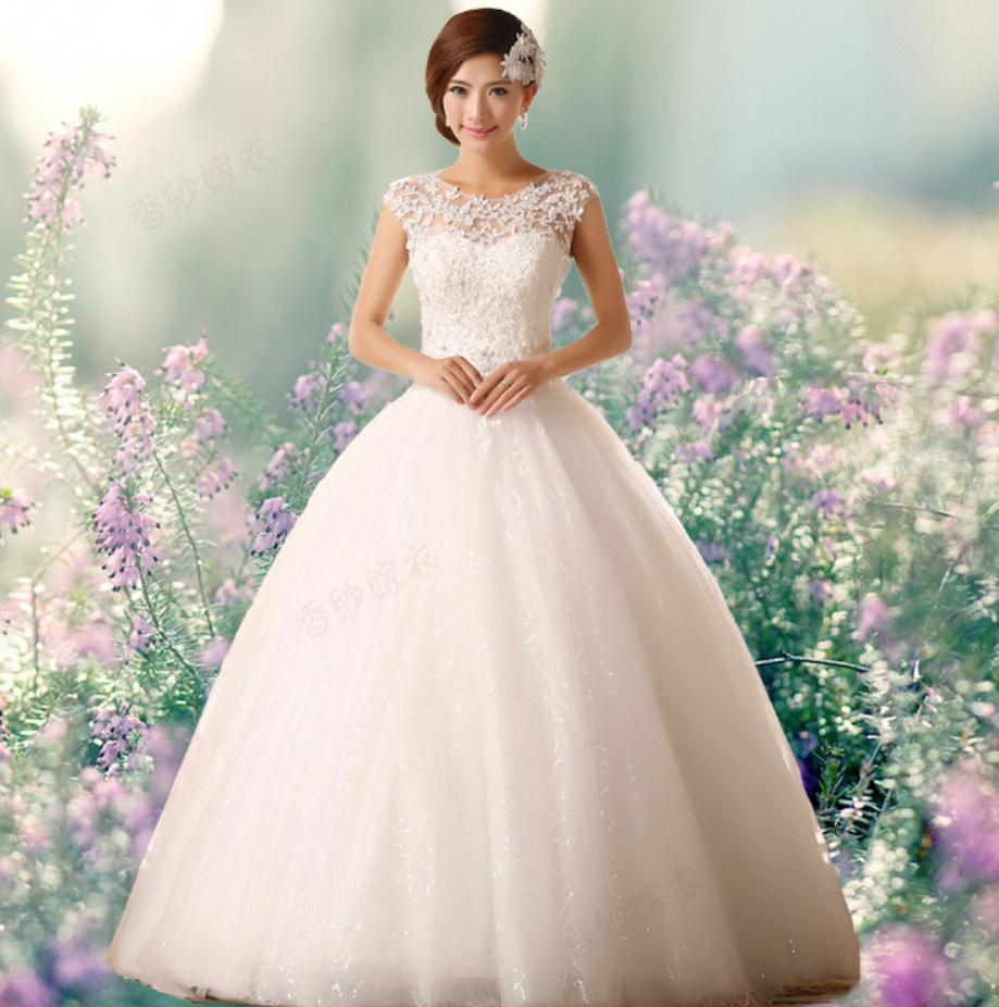 Dress Gowns For Weddings: Free Shipping 2016 New Arrival Bridal Wedding Dress