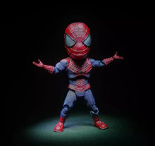 18cm The Amazing Spider-Man Spider Man2 Egg Attack Action action figure Toy Moveable gift Collection model Anime electronic pet(China)