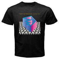 Nuevo Los Trazos * Ángulos Del Punk Rock de Los Hombres de Venda Negro T-Shirt Tamaño S a 3XL