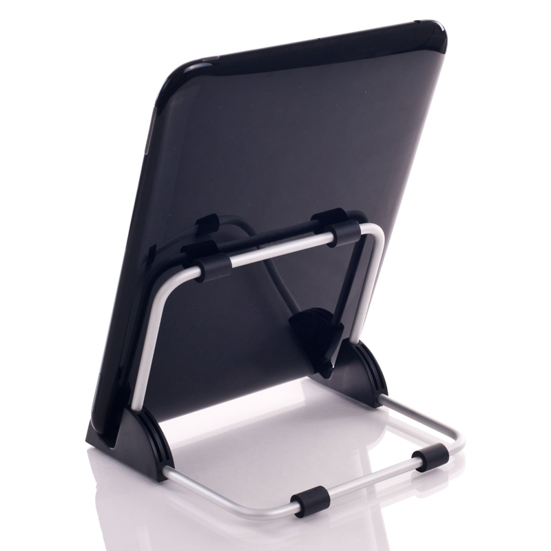 Super Light Universal Stand for Tablet PC Foldable Adjustable Aluminum Holder Stand for ipad Support Tablet QJY99 aluminum alloy abs plastic multi functional holder adjustable stand table mounts for ipad tablet