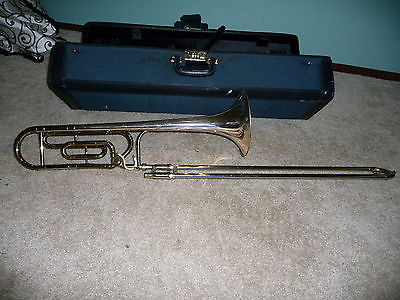 King 3B Silver Sonic Tenor Trombone with F Attachment 100th