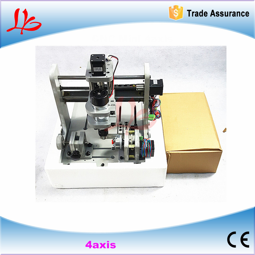 все цены на Mach 3 control Mini CNC Router 300W spindle PCB milling machine, no tax to Russia