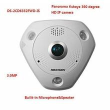 Ip Camera Wifi English Version DS 2CD6332FWD IS 3MP WDR Panorama 360 Degree Fisheye Network Waterproof