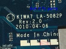 ГОРЯЧИЙ В РОССИИ УКРАИНА KIWA7 LA-5082P НОВАЯ БЕСПЛАТНАЯ ДОСТАВКА Ноутбука материнская плата Подходит для Lenovo G550 ноутбук