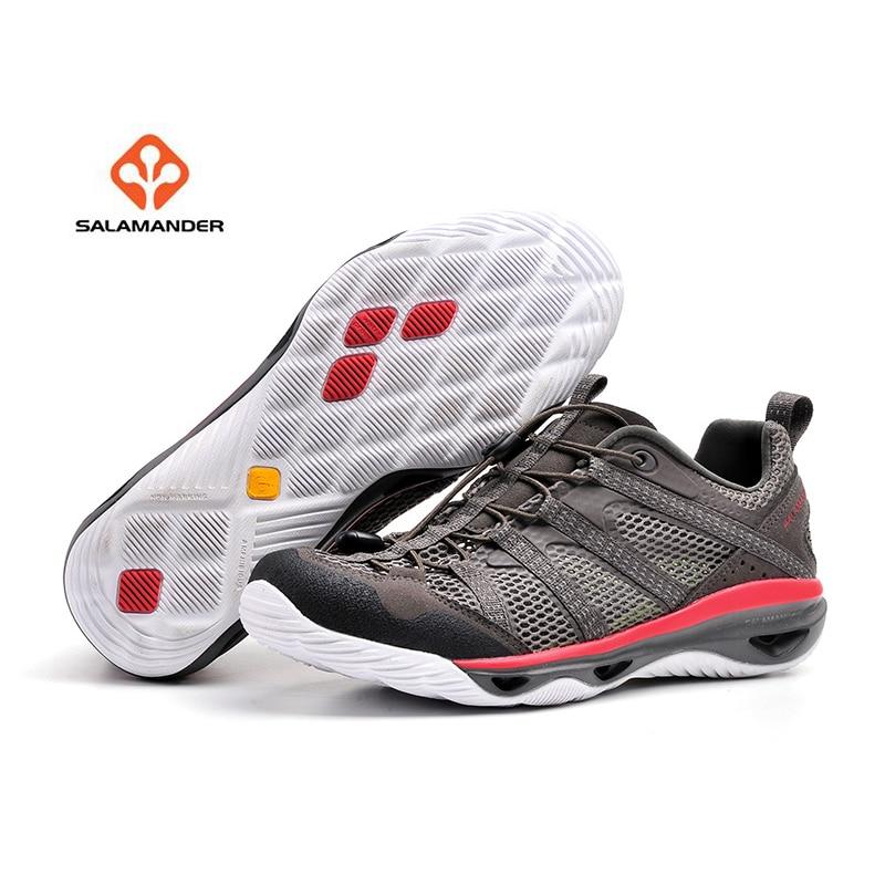 SALAMANDER Men s Summer Outdoor Water Aqua Hiking Sandals Shoes Sneakers  For Men Sports Mountain Trail Shoes Sneaker Man -in Hiking Shoes from Sports  ... b424eb69cc86