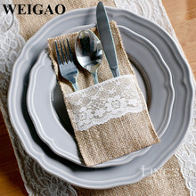 WEIGAO 10Pcs/Bag Wedding Disposable Tableware Knife Fork & Buy disposable tableware set wedding and get free shipping on ...