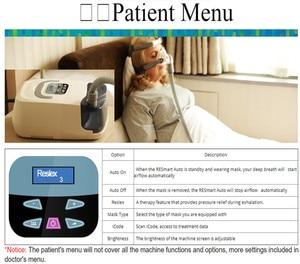 Image 4 - Doctodd GI Portable CPAP Machine for Sleep Apnea OSAHS OSAS Snoring People With Free Mask Headgear Tube Bag SD Card Top Quality