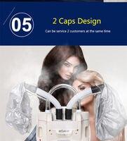 Salon Must Have 2 heads O3 Ozone hair care machine thermal hair treatment machine hair processer hair steamer