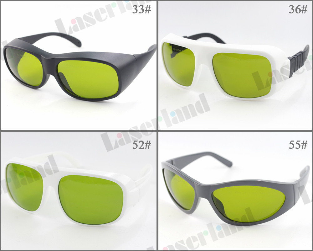 LP-ADY OD5+@740nm-1100nm , OD7+@780nm-1070nm Laser Protective Goggles Safety Glasses Special for: 755nm, 808nm,980nm,1064nm