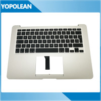 Original Spain Spanish Standard Top Case Palmrest + Keyboard + Backlight For Macbook Air 13 A1466 2013 2014 2015