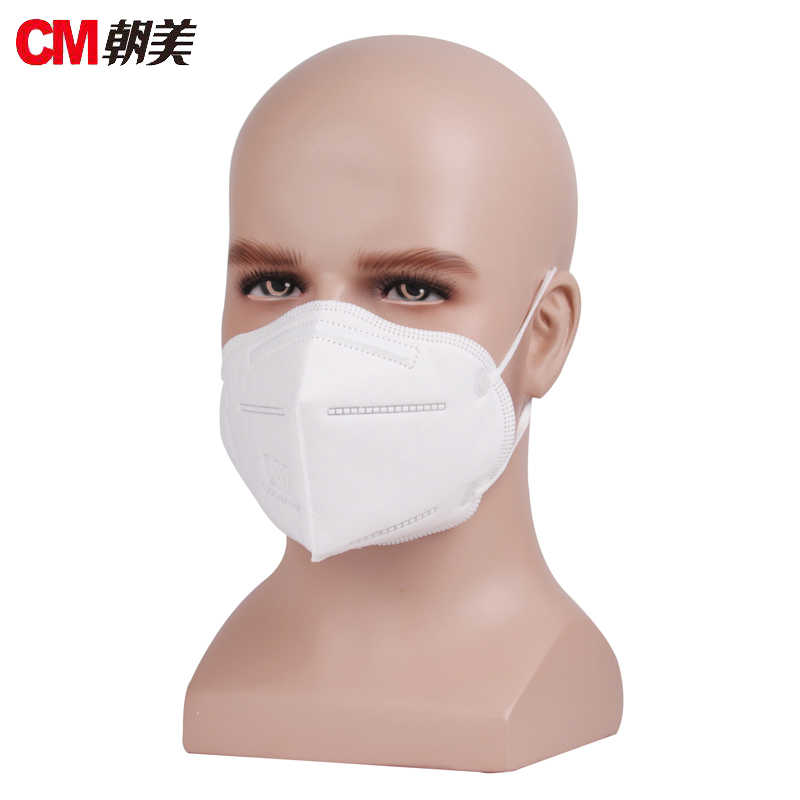 Cm6005-1 Mask Anti-sticking Anti Fog Respirator Dustproof Protective Safety 5 Anti-pm Dust Anti-particulate 2 Masks 600pcs