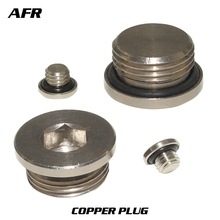 M5 copper inner hexagonal plug with sealing ring End Cap For Pneumatic Manifold