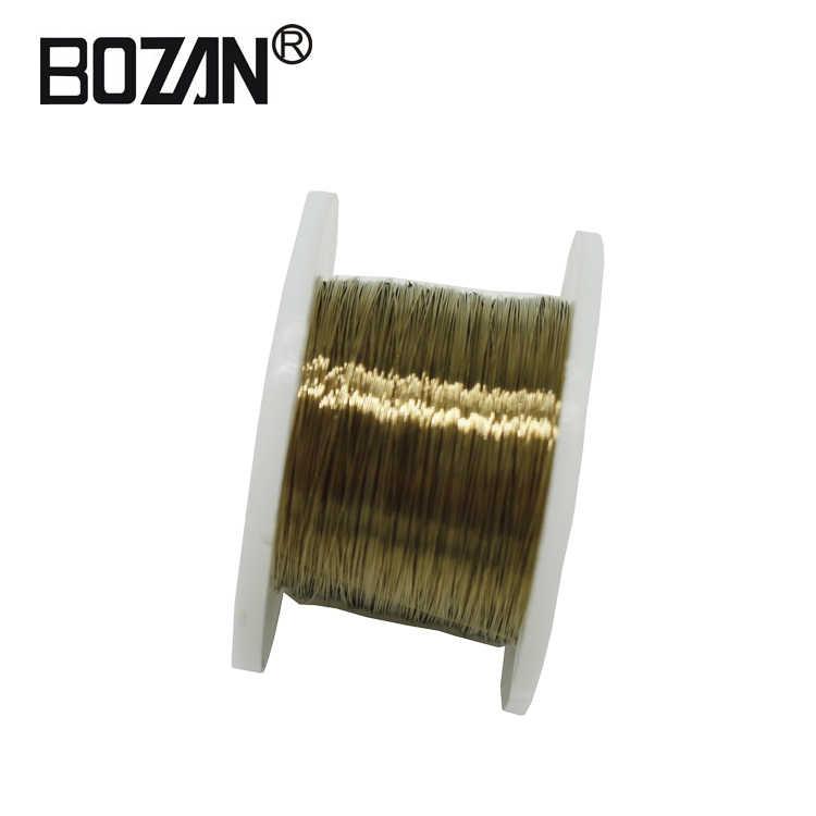 الذهب سلك الموليبدينوم 0.08 مللي متر 100 متر LCD قطع الزجاج من خط الفصل آيفون 6 6s 7 8 plus لسامسونج مع تشريح عصا